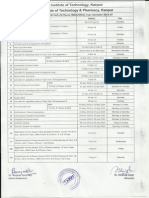 Academic Calendar Even Sem 201314