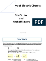 Basic Laws of Electric Circuits Ohm's Law and Kirchoff's Laws Galgotias