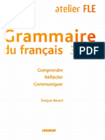 Grammair Du Francais Niveaux B1 B2