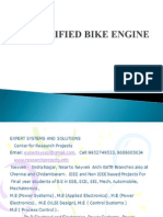 Electrified Bike Engine - EEE project
