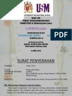 WUS101 - Kumpulan 43 - 2012 - Laporan Jualan