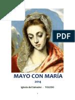 MAYO CON MARÍA (2014) IGLESIA DEL SALVADOR _ TOLEDO