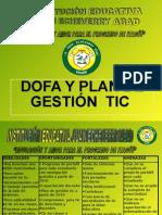 DOFA Y PLAN TIC