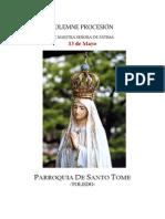 Procesión de Nuestra Señora de Fátima. 13 de mayo