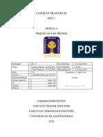 Laporan PSIT B-1 - Perencanaan Proses