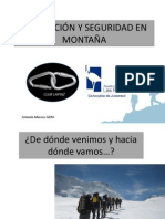 Prevención y Seguridad en Montaña