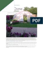 Cómo Construir Un Invernadero GeoDome
