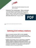 CMR Week 1 & 2 Theories CMR