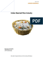 Indian Basmati Rice Industry 7-26-12