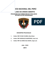 1 Sylabo de Orden Abierto - Tecnico Especializado - 2014