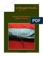 Journal of Bengali Studies, Vol.3 No.1