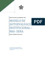Anexo Modelo Autoevaluacion Institucional SENA