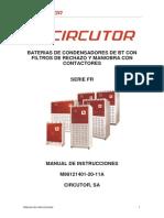 Manual Bateries Condensadors CIRCUTOR