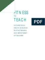 40 10 Fitness to Teach