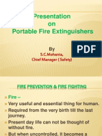 Presentation on Fire Extinguishers