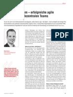 Distributed Scrum – erfolgreiche agile Entwicklung in dezentralen Teams