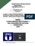 Tarea Sistema Operativo Unix.