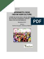 Monsanto-ising Indian Agriculture by Kavitha Kuruganti and Aishwarya Madineni