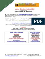 Pronóstico Climático Hasta El 2030
