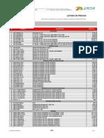 Superintendencia de Precios Justos - Lista de Precios - 20140510 - Sony
