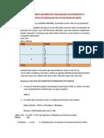 Procedimiento Matematico Para Realizar Un Estimativo de Pronostico de Cosecha en Un Lote de Palma de Aceite.