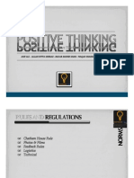 Positive Thinking - Training