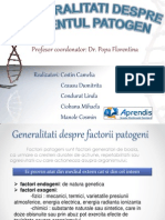 Agentii Patogeni