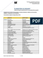 Caterpillar Master Glossary Spanish-Spain