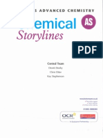 OCR B (Salters) Chemistry AS Storylines Textbook