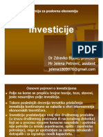 Инвестиције, Скрипта у Пдф