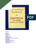 Dimitrije Djordjevic-portreti Iz Novije Srpske Istorije