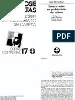 Un Proletariado Sin Cabeza - Jose Revueltas