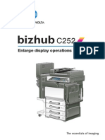 Bizhub c252 Um Enlarge-operations en 1-1-0 Phase3