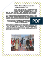 Dia de La Independencia Peruana