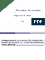 Slide - Sistemas de Amortizações SAC x SAF