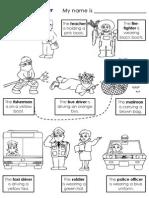 Jobs Color- worksheet
