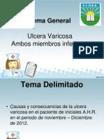 Diapositivas Ulceras Varicosas