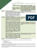 Matriz de Congruencia Para La Planeacion y La Evaluacion