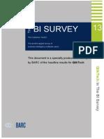 AR BARC Business Intelligence Survey 13 En