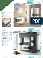 Catalogo Muebles de Baño CRONOS Salgar 2014