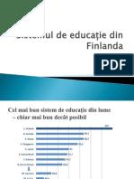 Sistemul de Educație Din Finlanda