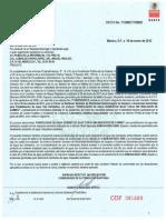 Certificado Purificador Sobre Tarja