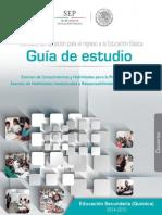 Guía de Estudio Concurso de Oposición Para El Ingreso a La Educación Básica (Química)