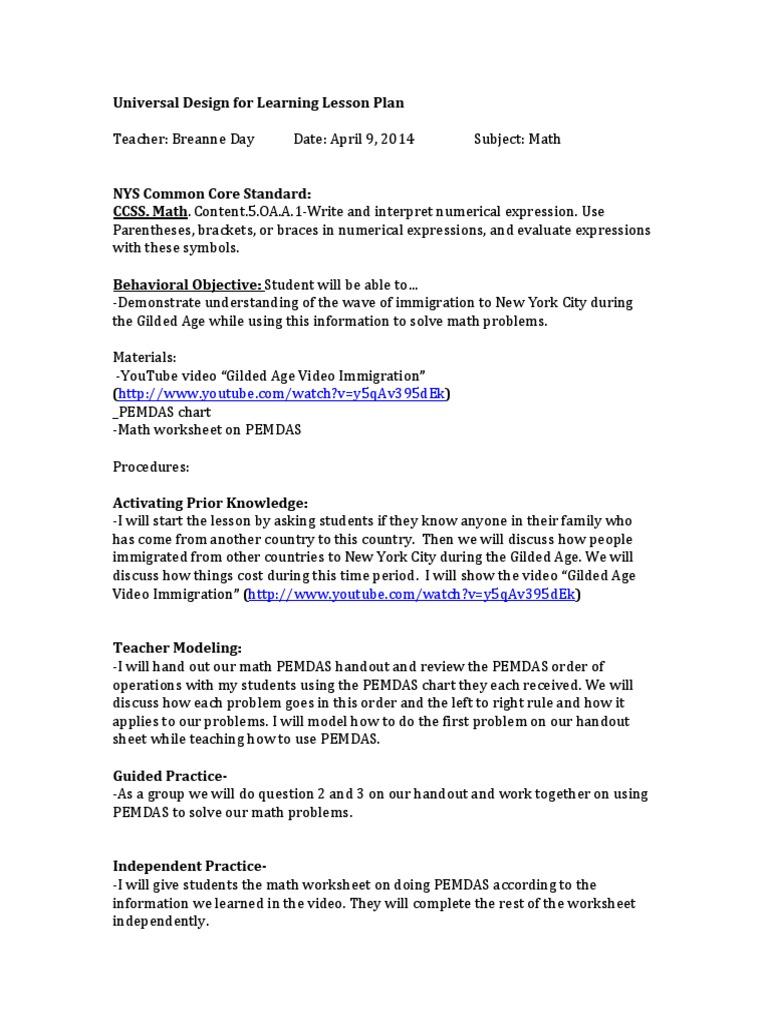week 4 math sped 245 revised   Physics & Mathematics   Mathematics