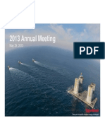 2013 Annual Meeting - Website Version