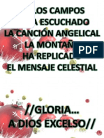 Gloria a Dios Excelso