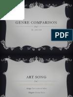 genre comparison