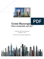 Green Skyscrapers