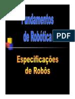 1 7 Especificacoes de Robos