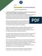 Katz, C. (2012). Argentina 'Cristinismo, Progresismo y Cacerolazos'